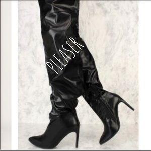 Shoes - OVER KNEE HIGH HEEL BOOTS